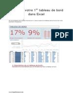 Tutoriel Tableau de Bord Excel