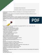 ANDEROL FGH 32 ficha tecnica en español