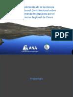 Exposicion de La Autoridad Nacional Del Agua Caso Espinar