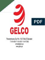 Brochure GELCO