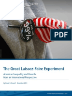 The Great Laissez-Faire Experiment