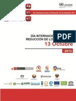 Campaña de Reducción de Desastres Perú 2013