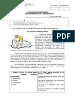 Evaluación Coef 2 II Semestre 5° básico