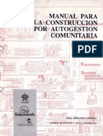 Manual Para La Construccion Por Autogestion Comunitaria