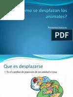 Cómo se desplazan los animales