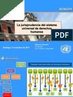 Jurisprudencia Sistema Internacional DDHH