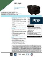 Officejet Pro 8600 Es