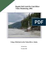 Ure 09 02 Rampart Rapids Fall Catch Per Unit Effort Video Monitoring Report