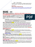 MAINE Points of Interest