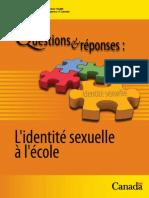 L'identité sexuelle à l'école