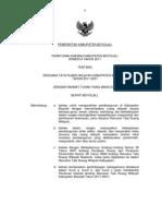 Peraturan Daerah kabupaten Boyolali Nomor 9 Tahun 2011 Tentang Rencana Tata Ruang Wilayah Kabupaten Boyolali Tahun 2011 - 2031