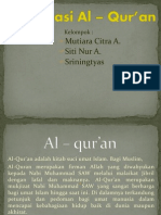 presentasi bahsan tentang Al – qur'an