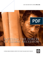 Battling the Forces of Global Recession [East Asia] World Bank April 2009