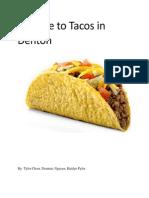 taco report