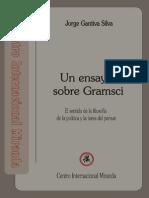 Un Ensayo Sobre Gramsci Jorge Gantiva Silva