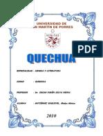 Monografía - El Quechua