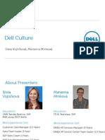 Week 5 - Dell Culture