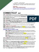 CONNECTICUT Points of Interest