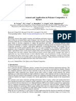 Coir Fibre Reinforcement and Application in Polymer Composites