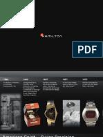 Hamilton Catalog 2013
