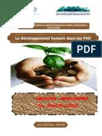 le developpement humian  dans les PVD