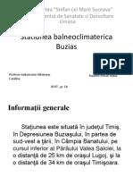 Statiunea balneoclimaterica Buzias