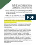 Derecho Civil 1 Parcial Respuesta