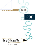 Stylobulle Catalogue Web