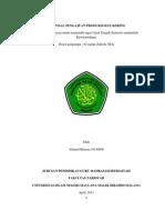 Proposal Pengajuan Produksi Kue Kering Kewirausahaan