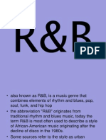 R&B Researchdff