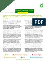 Energy Outlook 2030 Fact Sheet