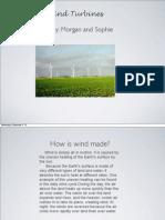 a wind turbine key note
