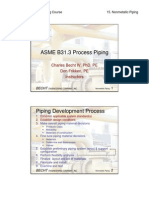 B31.3 Process Piping Course - 15 Nonmetallic Piping