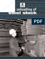 Safe Unloading of Steel Stock