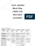 weekly lesson plan- block plan blank2