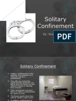 solitary confinement - power point final