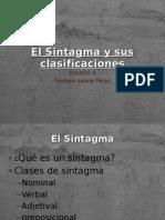 El Sintagma y Sus Clasificaciones