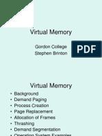 Virtual Memory OS notes