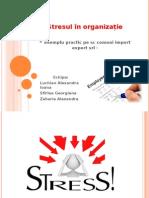 Stresul în organizație