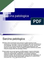 Sarcina Patologica Mircea Onofriescu E