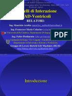 Workshop Istituto Superiore Sanità Modelli Di Interazione VAD Ventricoli