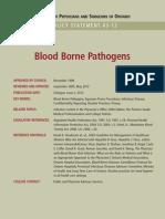Blood Borne Pathogens Policy