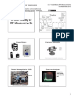 History of Rf Measurements