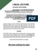 Bob Beck Protocol Paper