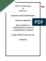 Cadena de Suministros LOGISTICA