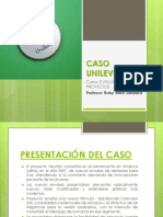 Caso Unilever - Ppt