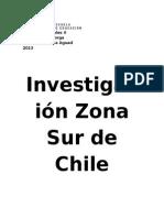 Investigación Zona Sur de Chile