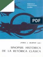 Murphy James J Ed Sinopsis Historica de La Retorica Clasica