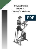 StairMaster 4000 PT
