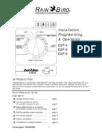 RainBird Homeowner Manual